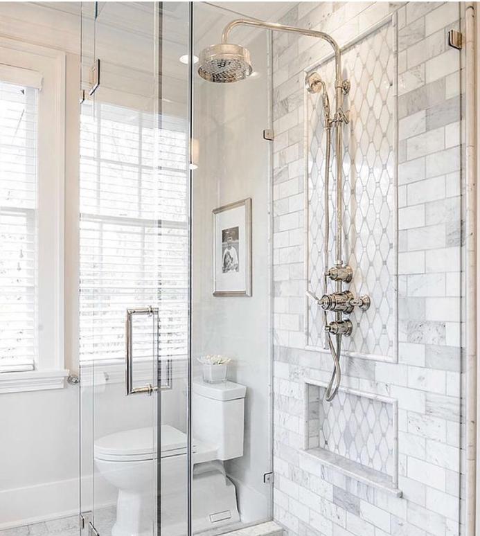 exposed shower fixtures
