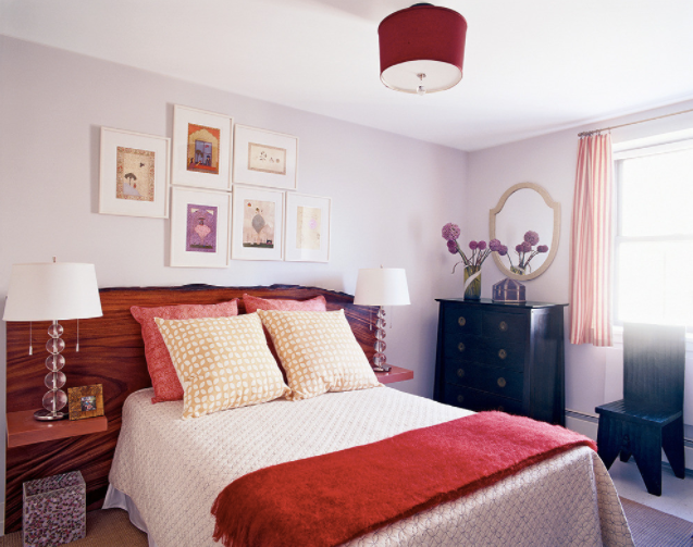 HOT FOR HUE: RED DECOR IN THE BEDROOM