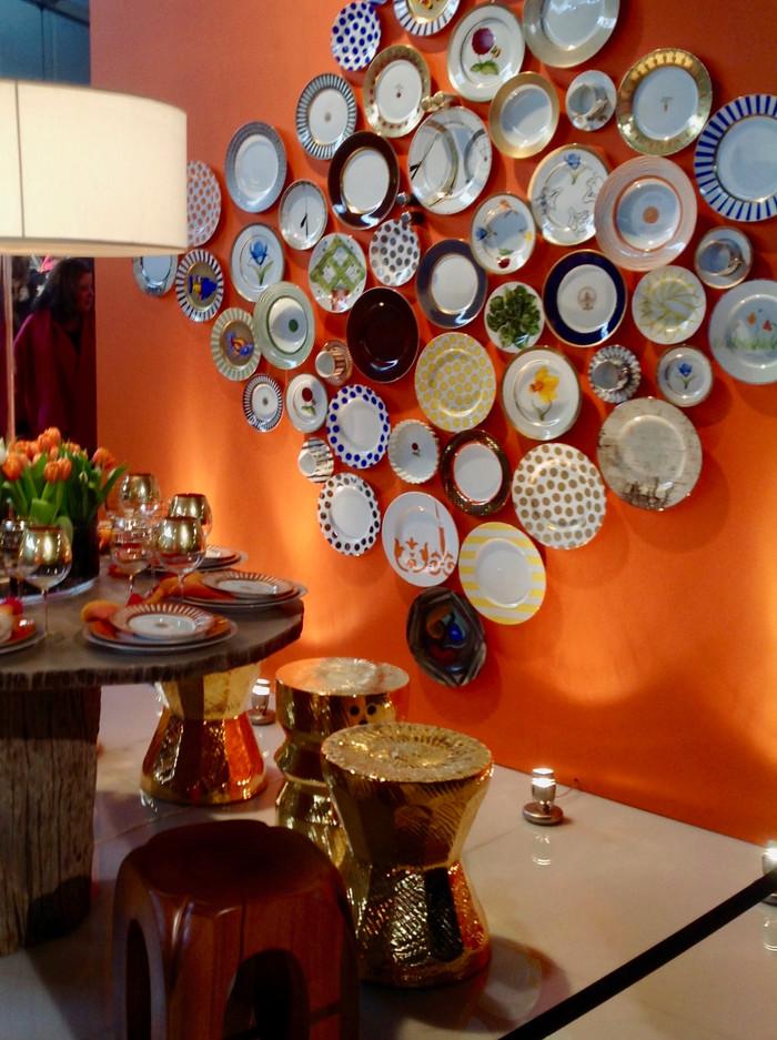HOT FOR HUE: ORANGE DINING ROOMS