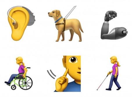 Un nuovo set di emoji per rappresentare le disabilità