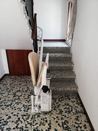Sedia sali scale per anziani Dometec a M