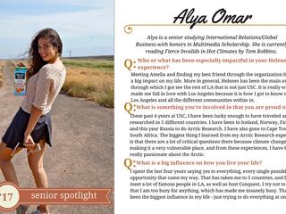Helenes Senior Spotlight: Alya Omar