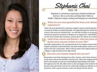 Helenes Spotlight: Stephanie Chai