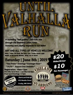 VGVMC Until Valhalla Run 2019