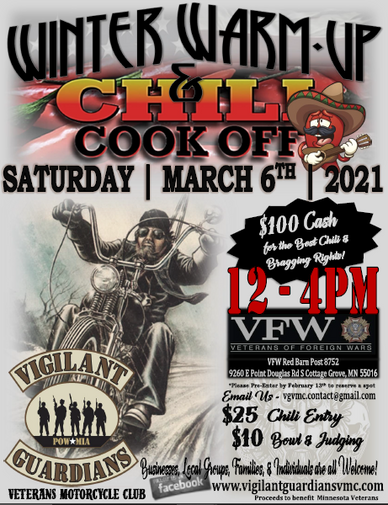 Winter Warm Up Chili Cook Off 2021