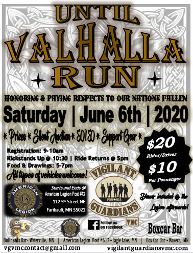 VGVMC Until Valhalla Run 2020
