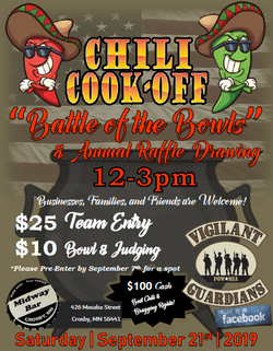 VGVMC Chili Cook Off 2019