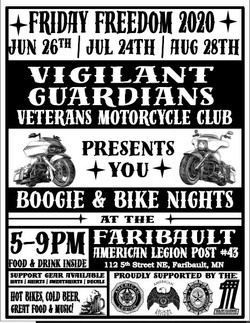Boogie and Bike Nights Flyer