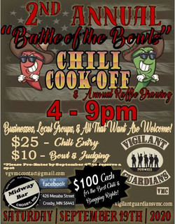 VGVMC Chili Cook Off 2020