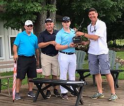 2019 KVF Junior Golf Tournament Champion