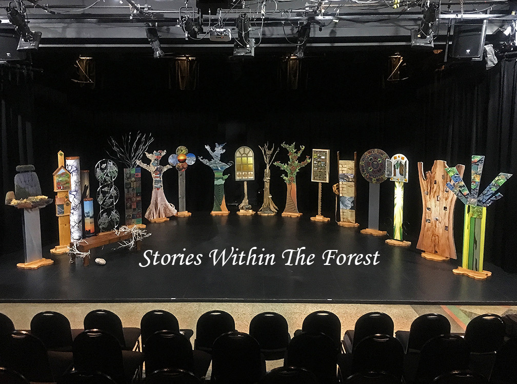 """Stories In The Forest"" theatre production"