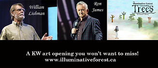 Ron James Guest speaker for the Illuminative Forest of Storytelling Trees