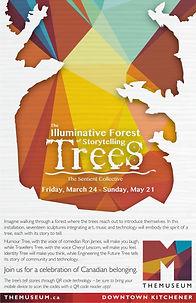 THEMUSEUM Illuminative Forest of Storytelling Trees