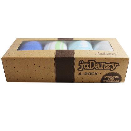 JuDanzy: Jazzy Boy 4-PAck Organic Leg Warmers