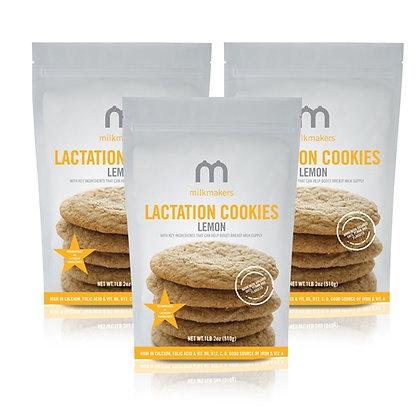 Milkmakers: Lactation Cookies Lemon