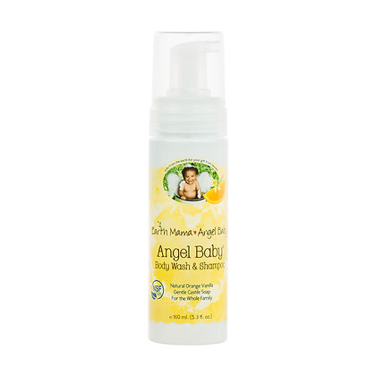 Earth Mama Angel Baby: Angel Baby Body Wash & Shampoo