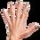 Thumbnail: Piggy Paints: Glitter Bug Natural Nail Polish