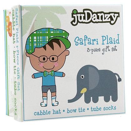 JuDanzy: Safari Plaid Gift Set