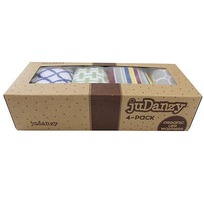 JuDanzy: East Coast 4-Pack Organic Leg Warmers