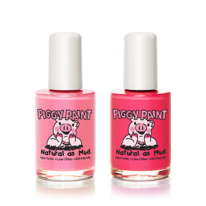 Piggy Paint: Tickled Pink Natural Nail Polish Gift Set