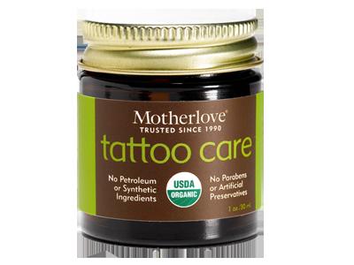 Motherlove: Tattoo Care