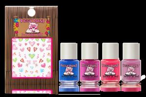 Piggy Paint: Tiny Tiaras Natural Nail Polish Gift Set