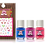 Thumbnail: Piggy Paint: Tiny Tiaras Natural Nail Polish Gift Set
