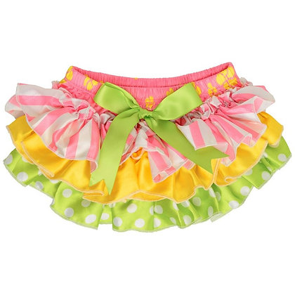 JuDanzy: Spring Fling Ruffle Satin Diaper Cover