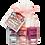 Thumbnail: Piggy Paint: Cotton Candy Natural Nail Polish Gift Set