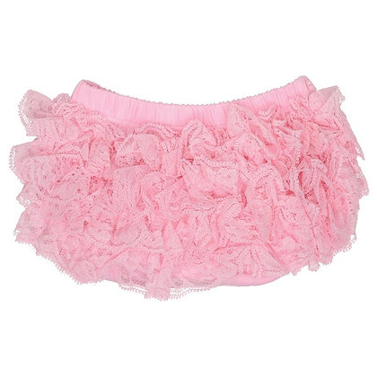 JuDanzy: Pink Lace Ruffle Diaper Cover