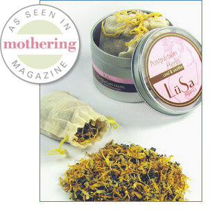 Lusa: Postpartum Herbs Cool & Soothe