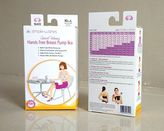 Simple Wishes: Hands-Free Breasts Pump Bra