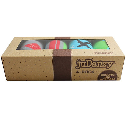 JuDanzy: Witty 4-Pack Organic Leg Warmers