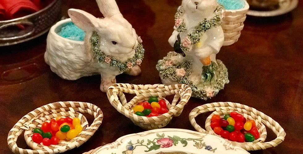 Sweetgrass Ornament Trinket Basket
