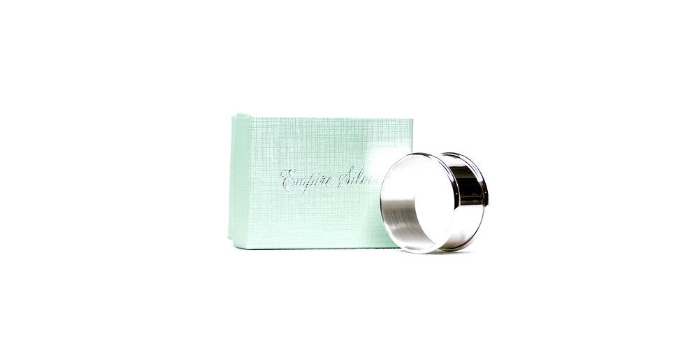 Napkin Ring Plain Sterling