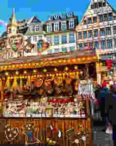 German Routes | Mercado de Natal em Frankfurt