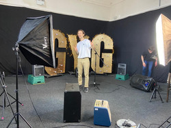 GYG filming BTS