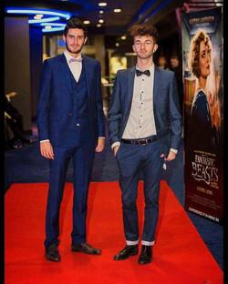 Fantastic Beasts premiere