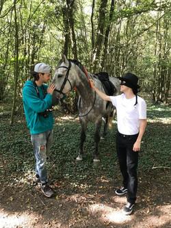 Zorroz film horse scene