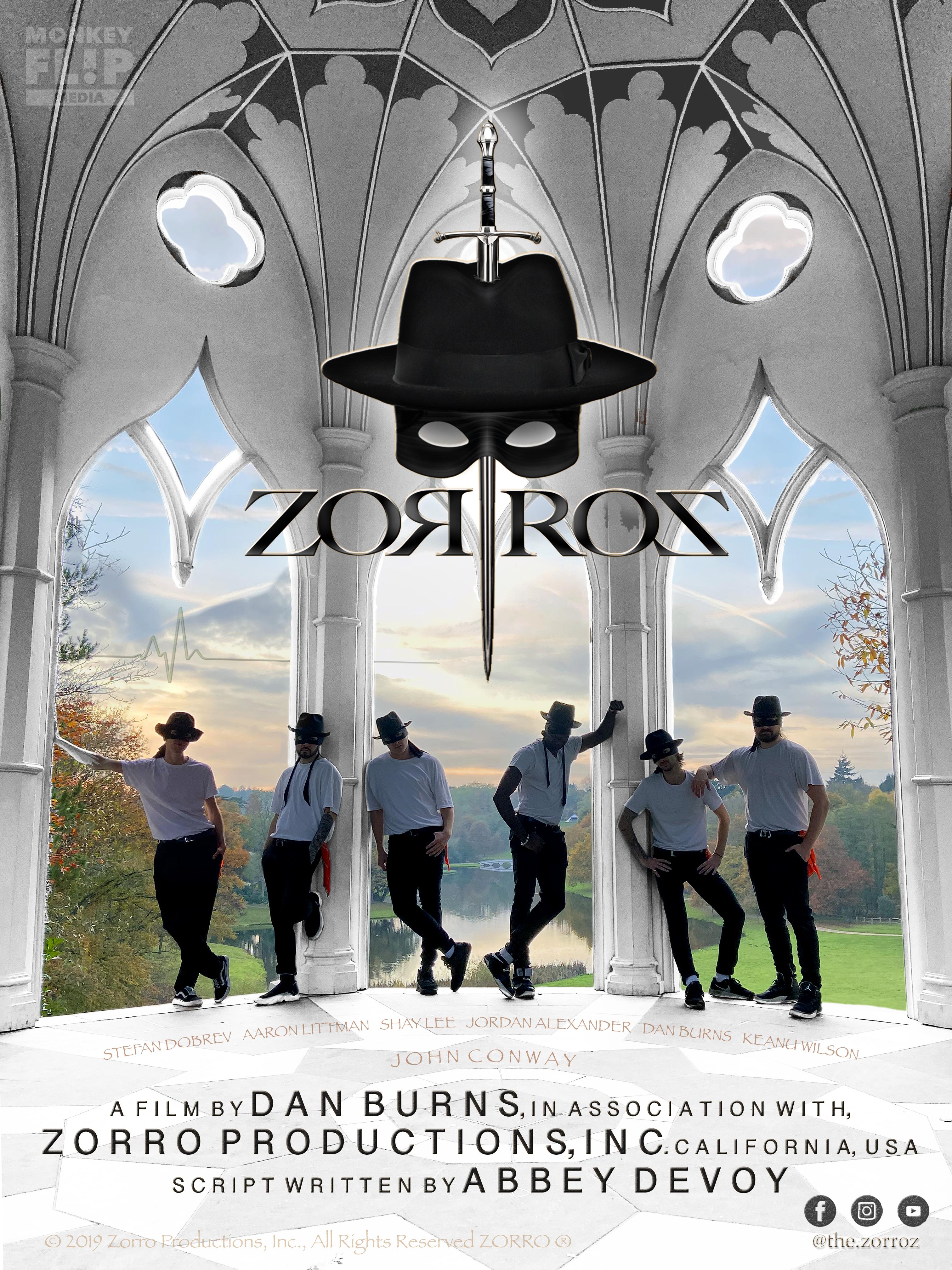 Zorroz DVD Poster