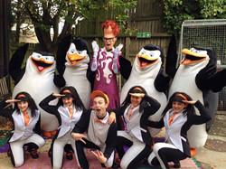 Last show of Penguins LIVE cast