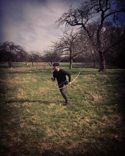 Archer stunt training
