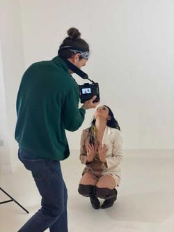 Eylem MV shoot