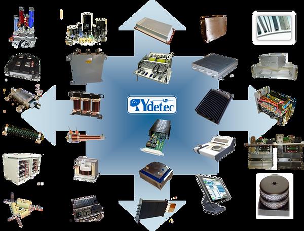 Gamme de produits YDETEC