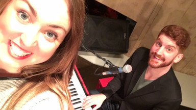 Katie Perman and Spenser Poole Dueling Pianos Edmonton The Grand Dueling Piano Show
