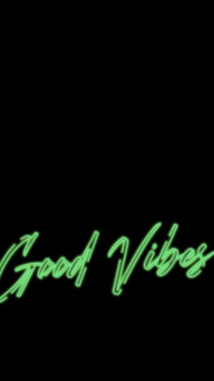 Good Vibes iPhone Wallpaper