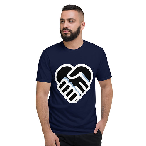 Love Handshake Short-Sleeve T-Shirt