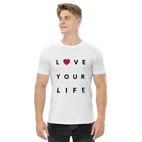 Love Your Life - Men's staple tee