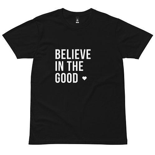 Believe In The GOOD - Men's staple tee