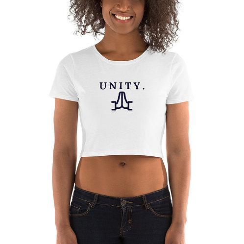 Unity. - Women's Crop Tee